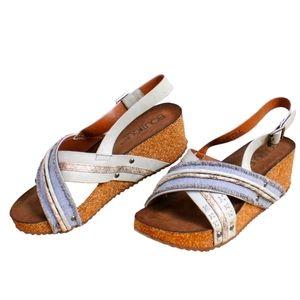 NEW Corkys Boutique Platform Wedge Sandals
